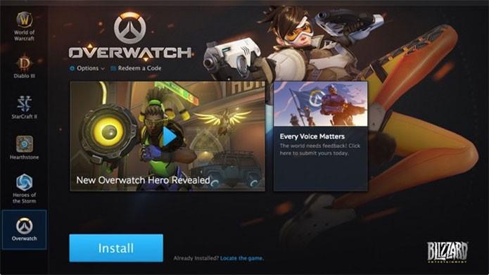 Baixe o beta de Overwatch do PC na Battle.net (Foto: Reprodução/Felipe Vinha)