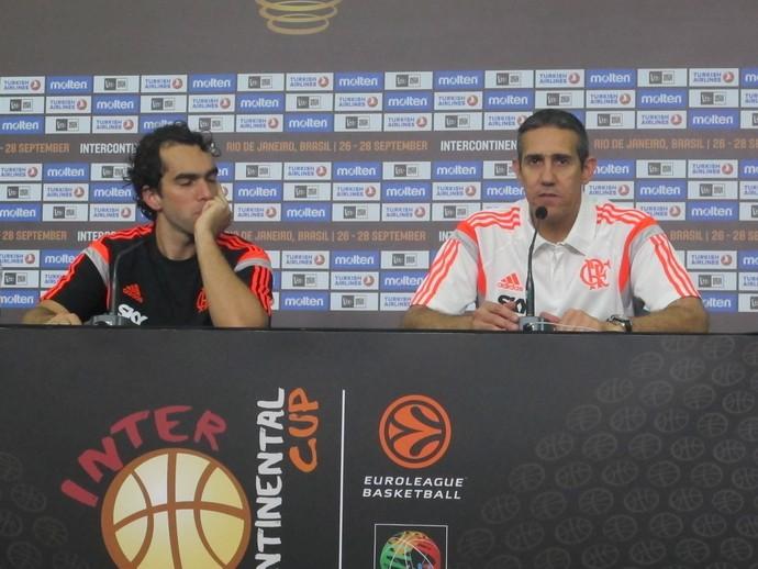 José Neto e Benite do Flamengo (Foto: Amanda Kestelman)
