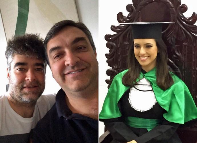 Irmãos Zeca Camargo (Foto: Arquivo Pessoal)