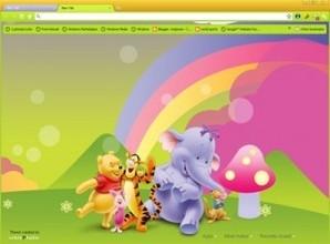 Ursinho Pooh para Chrome