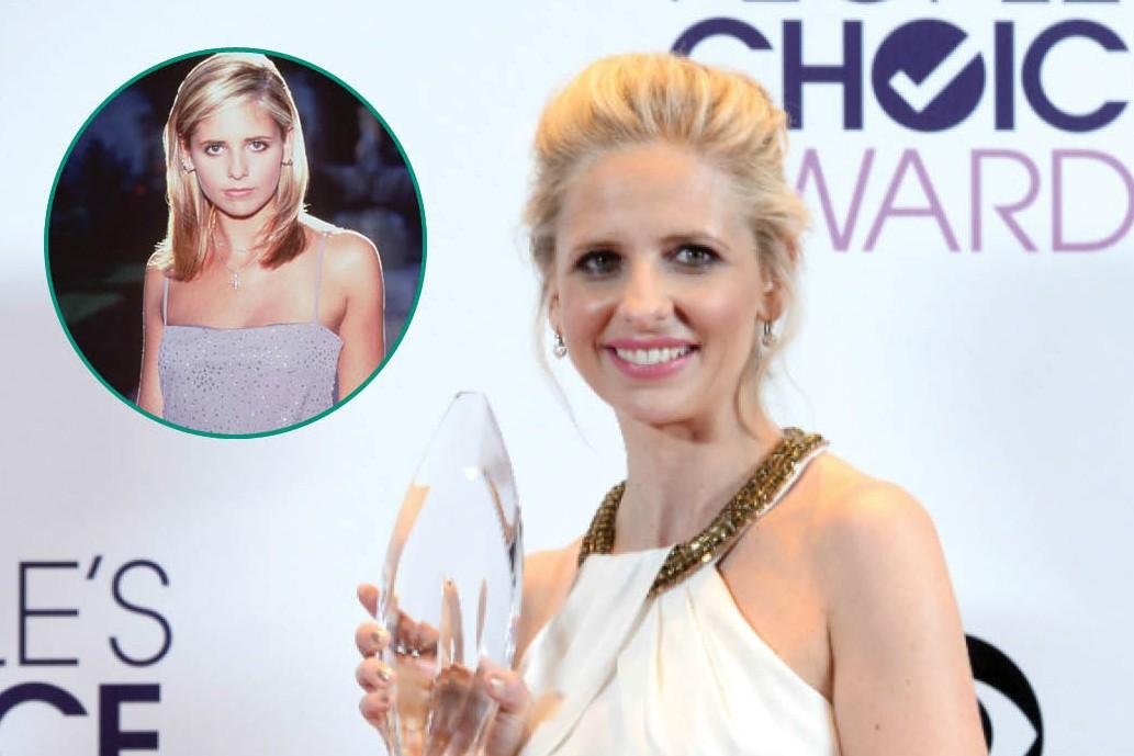 Sarah Michelle Gellar foi a caçadora de vampiros Buffy entre 1996 e 2003. Em 1997 ela esteve presente em 'Eu Sei O que Vocês Fizeram no Verão Passado' e depois foi a Dafne nos dois 'Scooby-Doo'. Dividiu a tela com Robin Williams na série 'The Crazy Ones'. Em 2015 ela estará no telefilme 'Scream Queens' (Foto: Divulgação/Getty Images)
