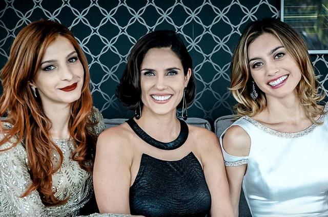 Michelle Batista, Rafaela Mandelli e Juliana Schalch (Foto: Reprodução)
