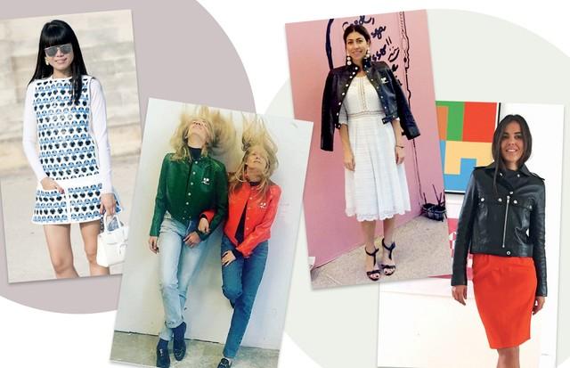 Leaf Greener, Sabine Getty e Emma Elwick-bates, Carol Bassi e Gisela Niedzielski (Foto: Kirstin Sinclair/Getty Images , Agência Fotosite, Getty Images, Divulgação e Reprodução/ Instagram)