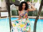 Musa da Vai Vai, Lucy Ramos posa para o EGO em clima de carnaval