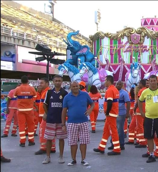Grupo especial (Reprodução Globo)