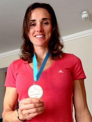 remo fabiana Beltrame bronze na etapa de Eton (Foto: Reprodução / Facebook)