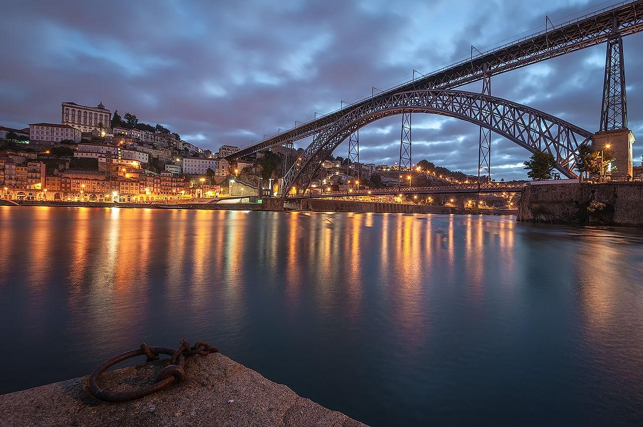 Ponte Luís I em Porto, Portugal (Foto: Rossana Ferreira/Wikipédia)