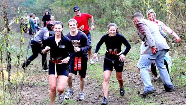 Corrida Run For Your Lives zumbis eua (Foto: Divulgação)