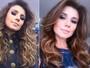 Paula Fernandes muda o visual: cabelos mais curtos e acobreados