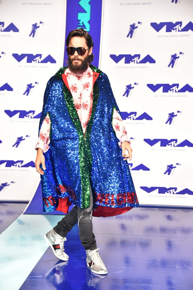 INGLEWOOD, CA - AUGUST 27: Jared Leto of Thirty Seconds to Mars attends the 2017 MTV Video Music Awards at The Forum on August 27, 2017 in Inglewood, California.  (Photo by Frazer Harrison/Getty Images) (Foto: Getty Images)