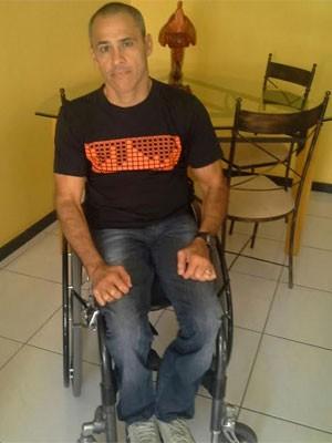 Mauro Bernardo Oliveira é ex-atleta e já participou de 2 paralimpíadas (Foto: Arquivo Pessoal)