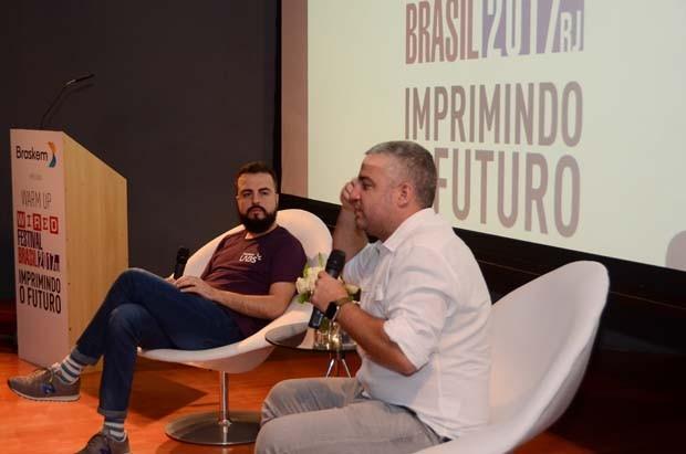 LG Lima e Guilherme Brammer, da Boomera (Foto: Rodrigo Zorzi)