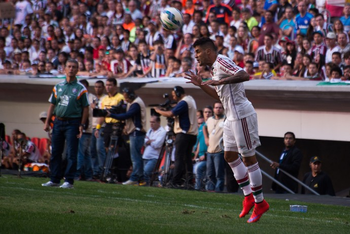 Ricardo Drubscky e Giovanni Atlético-MG x Fluminense (Foto: BRUNO HADDAD/FLUMINENSE F.C.)