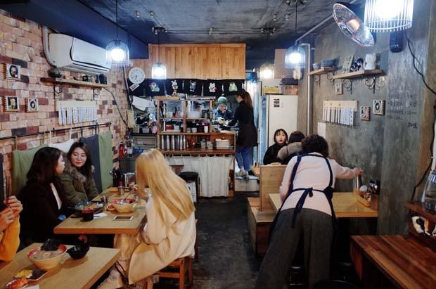 Restaurante de Udon no bairro Buchon (Foto: Dimitri Mussardi)