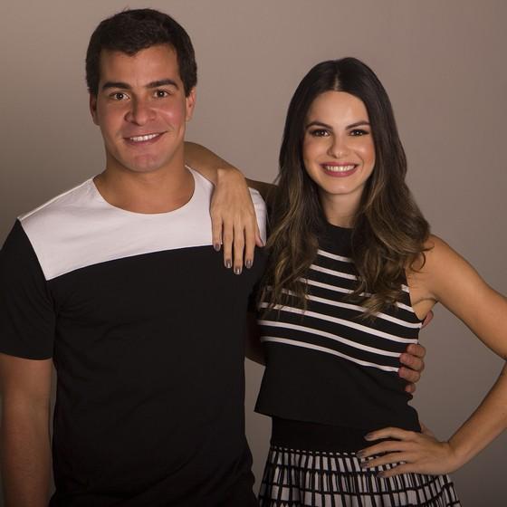 Thiago Martins e Sthefany Britto vivem par romântico pela terceira vez em suas carreiras (Foto: Divulgação)