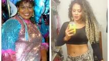 Após perder 52 kg, mulher lucra com dieta saudável  (Arquivo Pessoal )