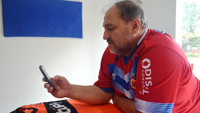 Carlos Dalanhol, vice-presidente do Vilhena (Foto: Dayanne Saldanha)