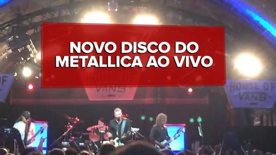 Metallica mostra energia renovada e boas novas em show intimista
