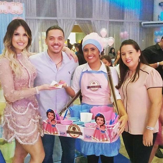 Wesley Safadão em festa da filha (Foto: Reprodução / Instagram)