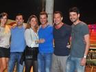 Malvino Salvador bate ponto em mais um dia do Rock in Rio: 'Curtindo'