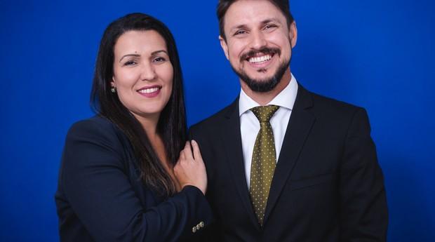 Victor Tardin e Débora Duarte (Foto: Divulgação)