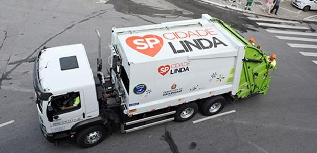 Caminhão da Loga, empresa que está recebendo críticas de associação de empresas (Foto: Divulgação)