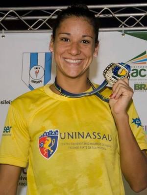 Joanna Maranhão no JUBs 2014 (Foto: Reprodução Facebook)