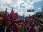 Maceió tem manifestação contra o presidente em exercício Michel Temer