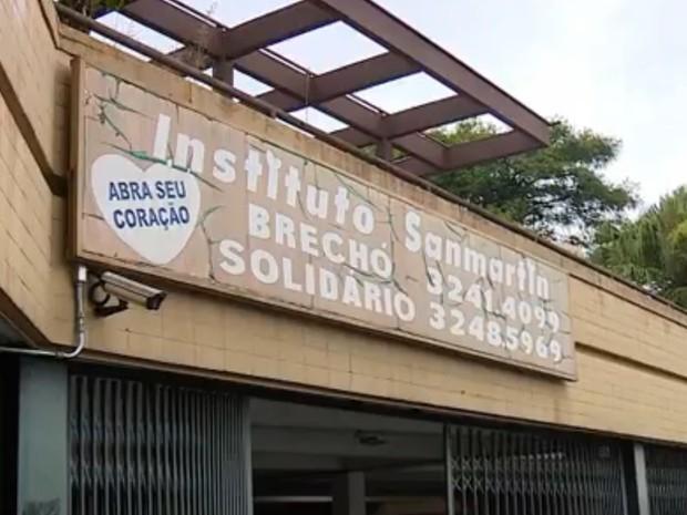 ONG fica no bairro Tristeza, na Zona Sul de Porto Alegre (Foto: Reprodução/RBS TV)