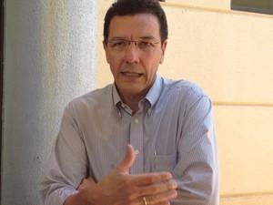 Edward Madureira - reitor da UFG - Goiânia (Foto: Gabriela Lima/G1)