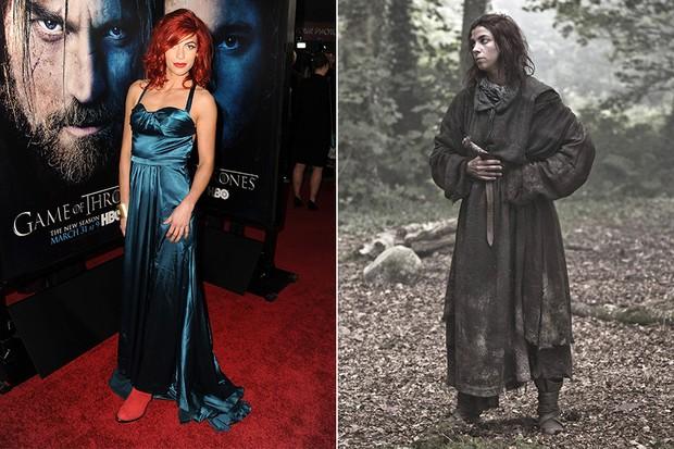 Natalia Tena em Game of Thrones (Foto: Agência Getty Images / Divulgação Game of Thrones)
