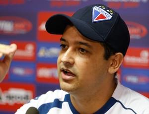 Marquinhos Santos, técnico do Fortaleza (Foto: JL Rosa/Agência Diário)