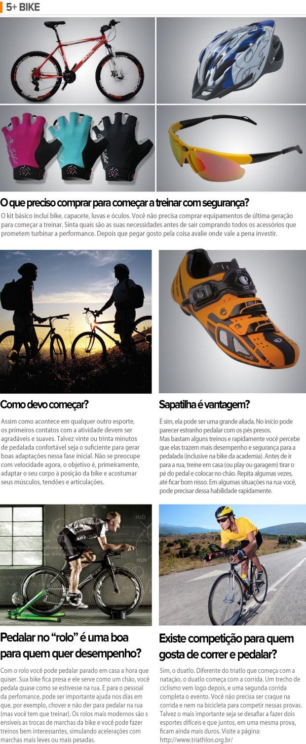 EU Atleta 5+ Bike (Foto: Arte / Globoesporte)