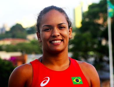 Aline Silva luta olímpica (Foto:  Flávio Perez/OnboardSports)