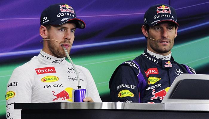 Mark Webber Sebastian Vettel GP do Japão