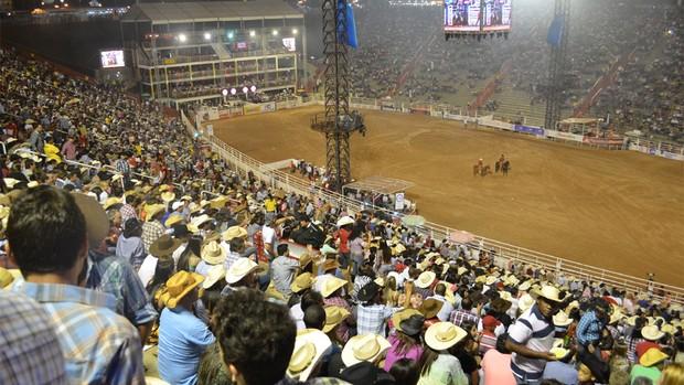Festa do Peão termina sem ocorrências graves, diz PM (Adriano Oliveira/G1)