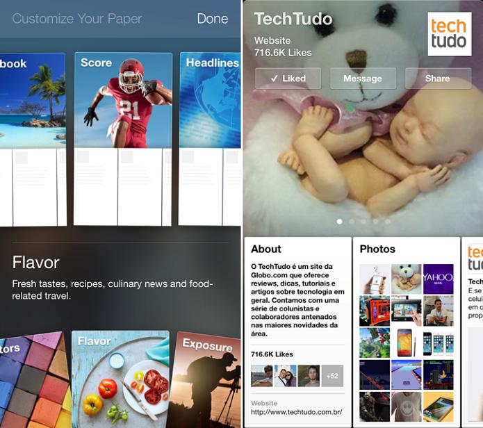 Paper é totalmente customizável (Foto: Thiago Barros/TechTudo) (Foto: Paper é totalmente customizável (Foto: Thiago Barros/TechTudo))