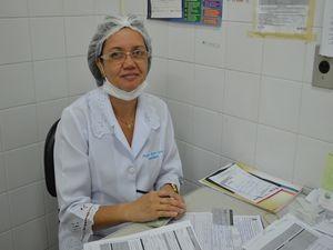 Enfermeira comenta quantidade de vacinados (Foto: Flávio Antunes/G1 SE)