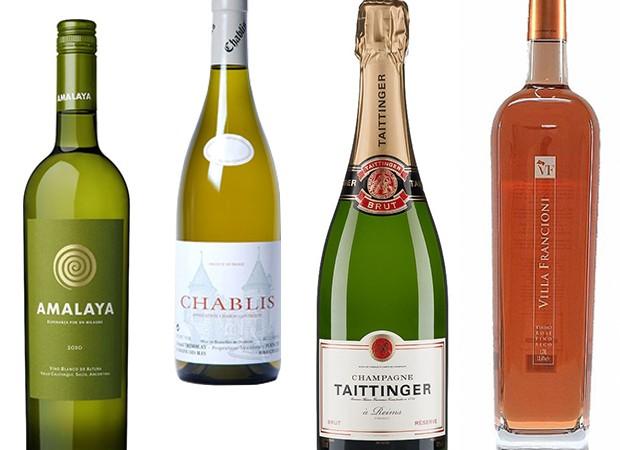 Escolha o vinho que tem mais a ver com o seu programa e bom verão (Foto: Reprodução)