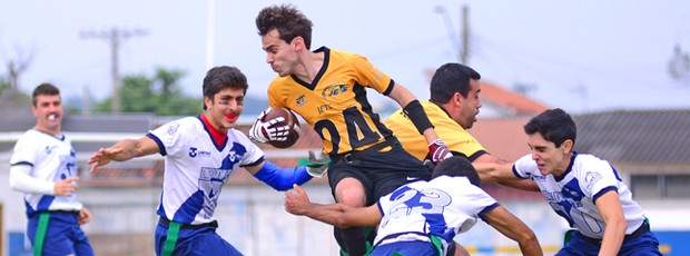 Taubaté Big Donkeys e São José Jets se enfrentam em Taubaté (Foto: Jonas Barbetta/ Top 10 Comunicação)