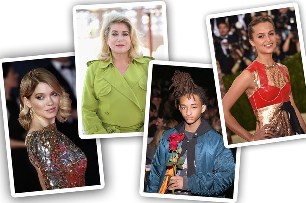 Léa Seydoux, Catherine Deneuve, Jaden Smith e Alicia Vikander  (Foto: Getty Images)