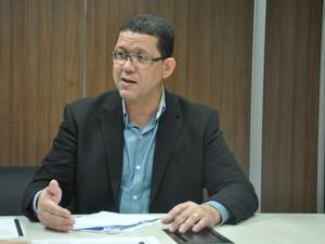 Secretário de Justiça de Rondônia, Marcos Rocha (Foto: Sejus/Divulgação)