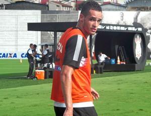 Renato Augusto, Treino Corinthians (Foto: Diego Ribeiro)