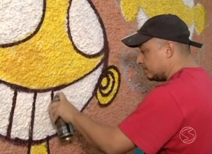Volta Redonda tem arte espalhada pelas ruas da cidade (Foto: Rio Sul Revista)