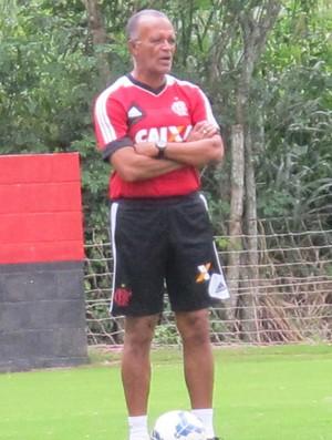 Flamengo treino Jayme de Almeida (Foto: Thales Soares)