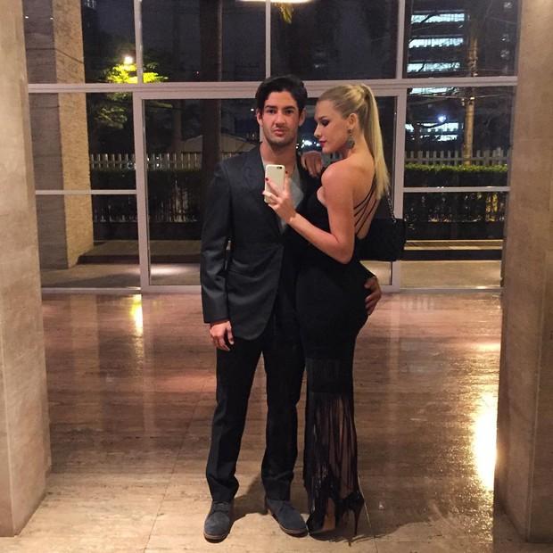 Alexandre Pato e Fiorella Mattheis (Foto: Reprodução / Instagram)