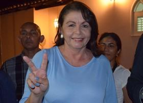'Temos muito a fazer', diz Suely ao ser eleita (Inaê Brandão/ G1 )