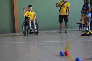 Dupla amapaense viaja para disputar competição nacional de bocha em SP (Foto: Rafael Moreira/GE-AP)