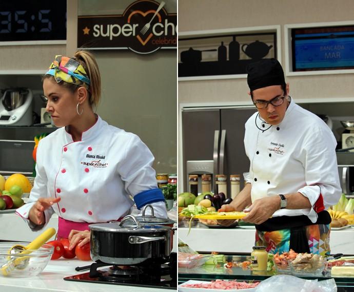 Bianca e Fernando Ceylão estão na terceira Panela de Pressão (Foto: Carolina Morgado/Gshow)