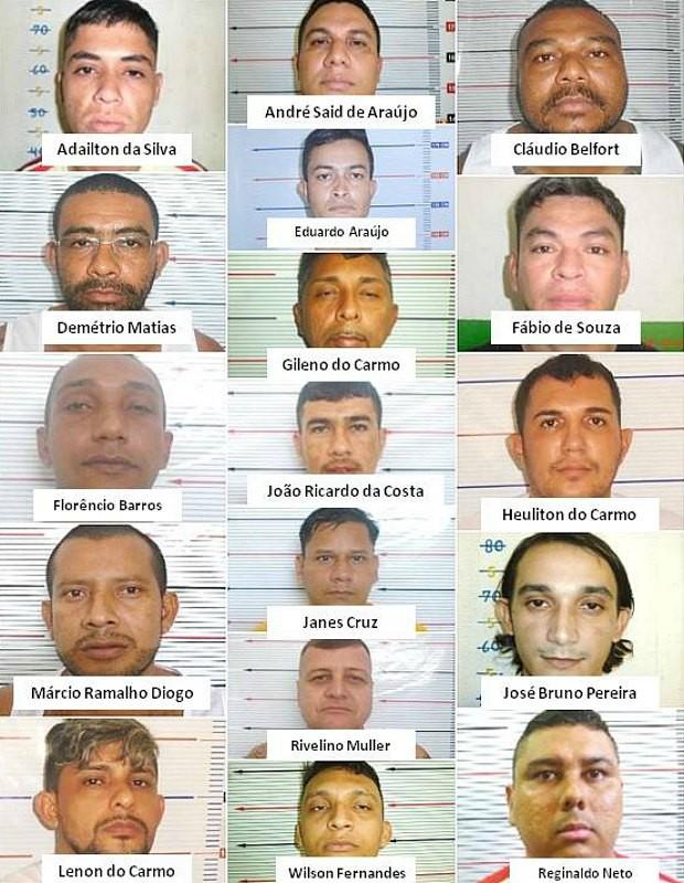 Presos transferidos são considerados líderes do massacre de detentos no Amazonas (Foto: Reprodução / Divulgação)